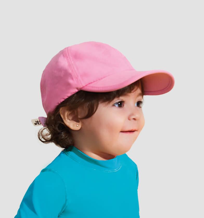 Boné Baby Colors - Rosa Blush - uvline 46ad2d86923