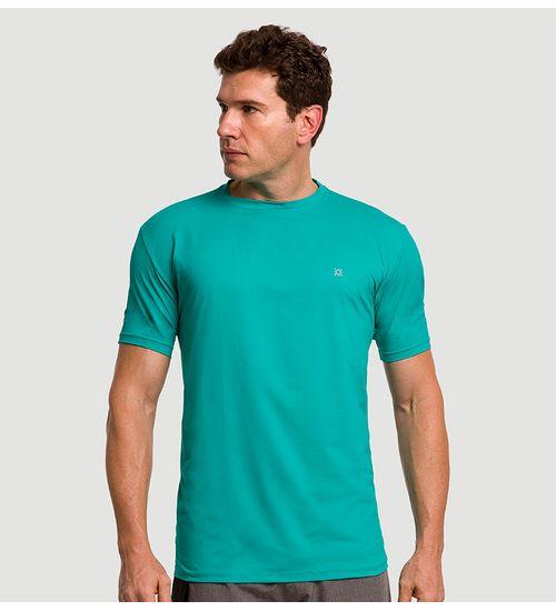 268e117721 Camiseta com Proteção Solar Uvpro Masculina UV.LINE - Verde Menta