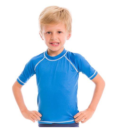 1b3abb6ab4 Camiseta com Proteção Solar UV Colors UV.LINE - Azul Malibu
