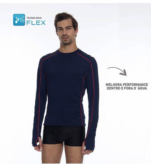 f9752b5b1b Camiseta Flex Masculina - Marinho