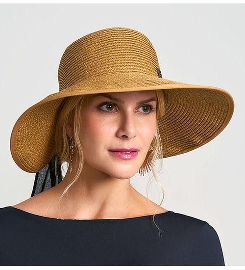 Chapéu Santorini com Proteção Solar UV.LINE - Trigo 0361017a47c