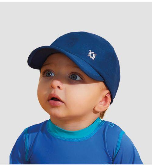 Boné Baby com Proteção Solar UV.LINE - Marinho 25c3cee39e0