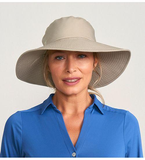 Chapéu com Proteção Solar San Diego UV.LINE - Areia 737db0b0d52