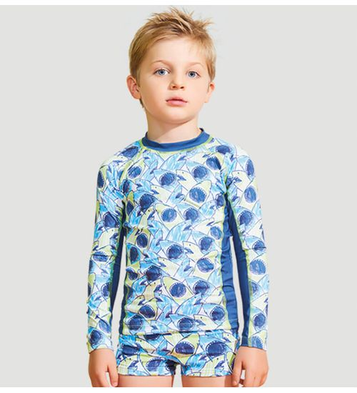 Camiseta Acqua com Proteção Solar UV.LINE - Tubarão 63ff441c8f7