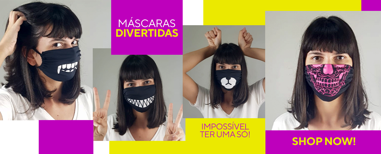 MÁSCARAS DIVERTIDAS