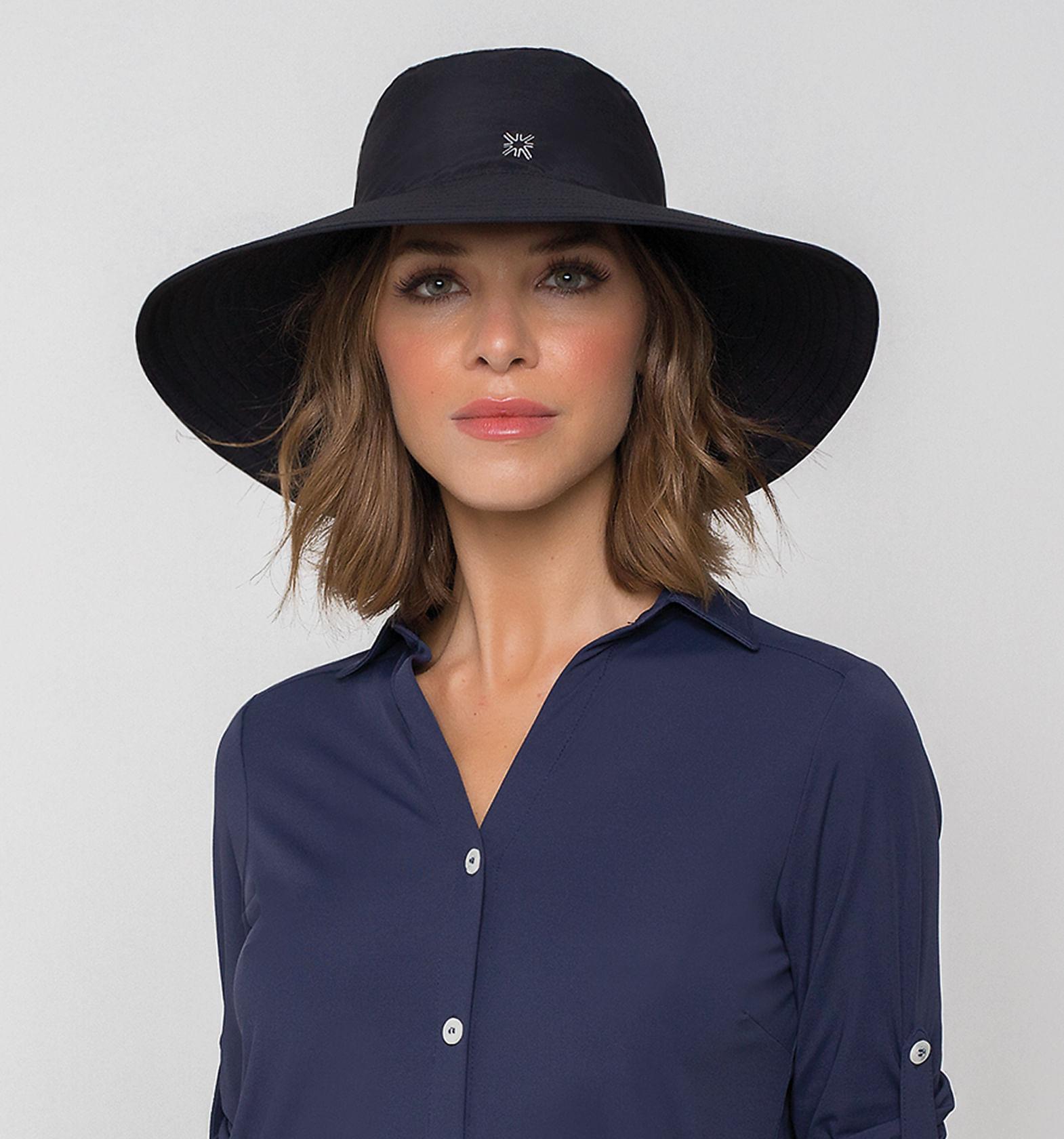 Chapéu com Proteção Solar UV San Diego UV.LINE - Preto