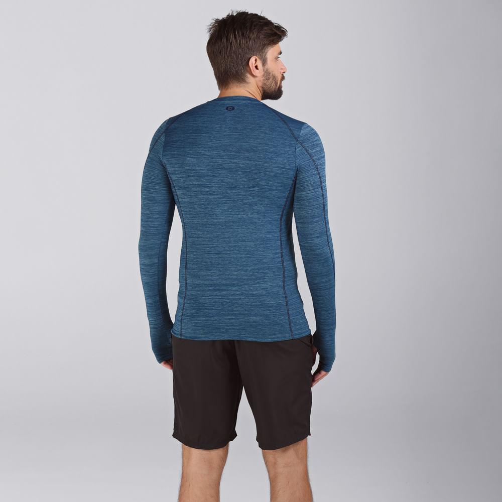 Camiseta com Proteção Solar UV.LINE - Flex - Indigo