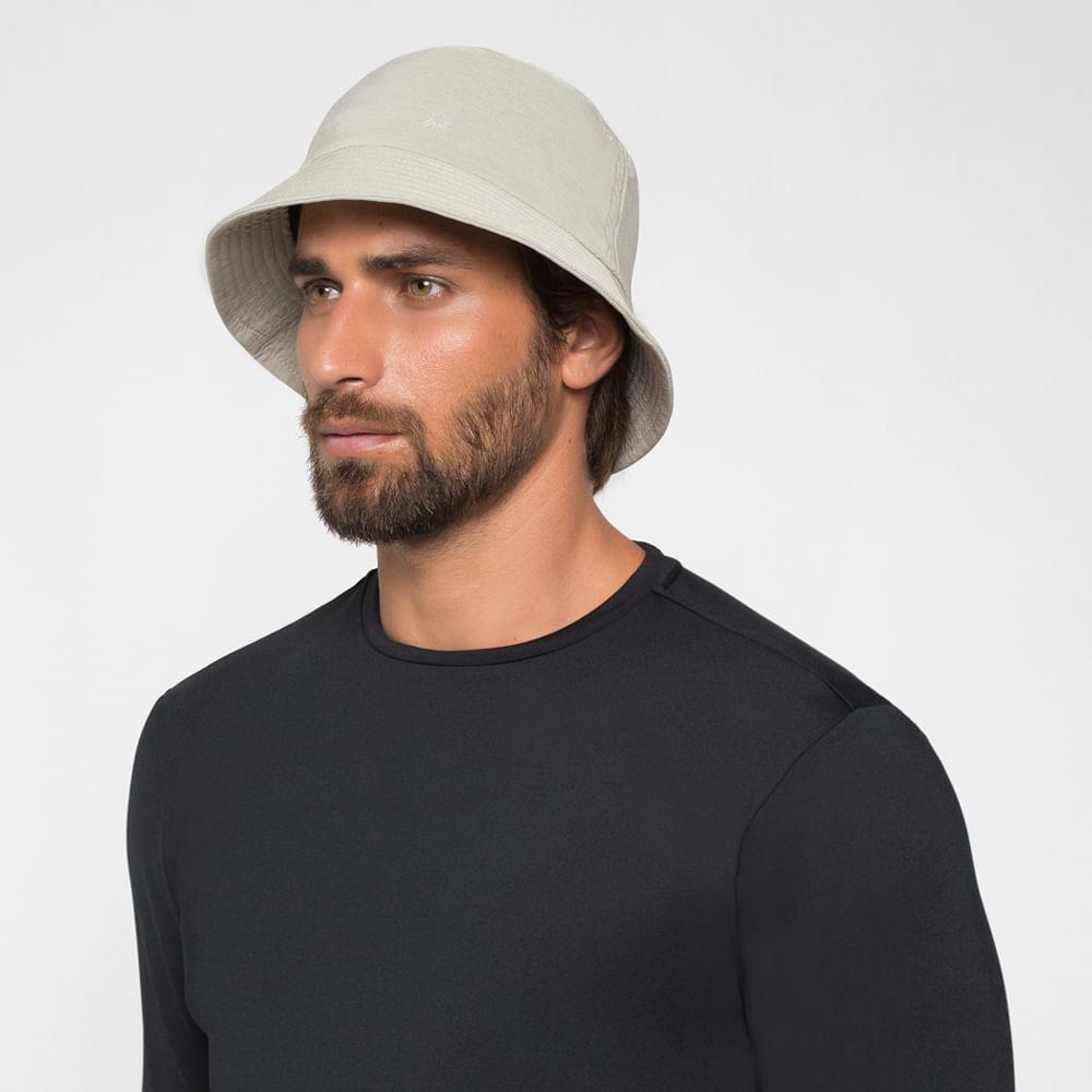 Chapéu UV com Proteção Solar Toronto Colors UV.LINE - Areia